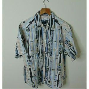 Vintage Guess Small Short Sleeve Button Shirt